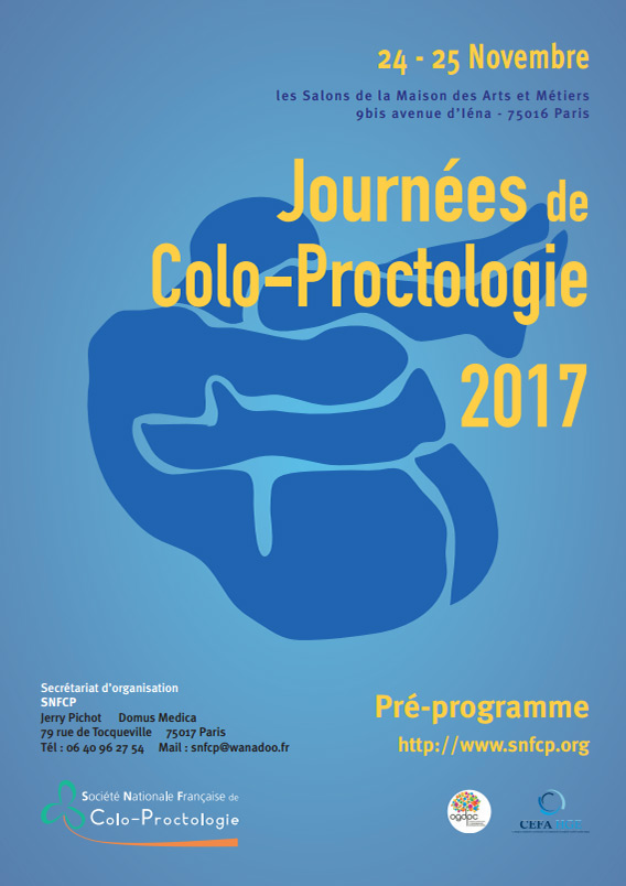 Congrès 2017 - Les Journées de Colo-Proctologie 2017