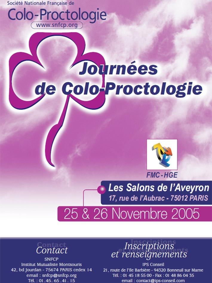Journées de colo-proctologie 2005