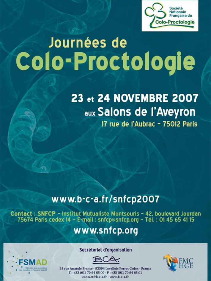 Journées de colo-proctologie 2007