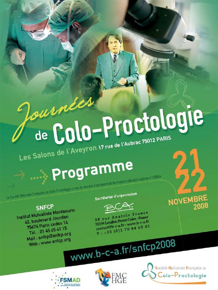 Journées de colo-proctologie 2008