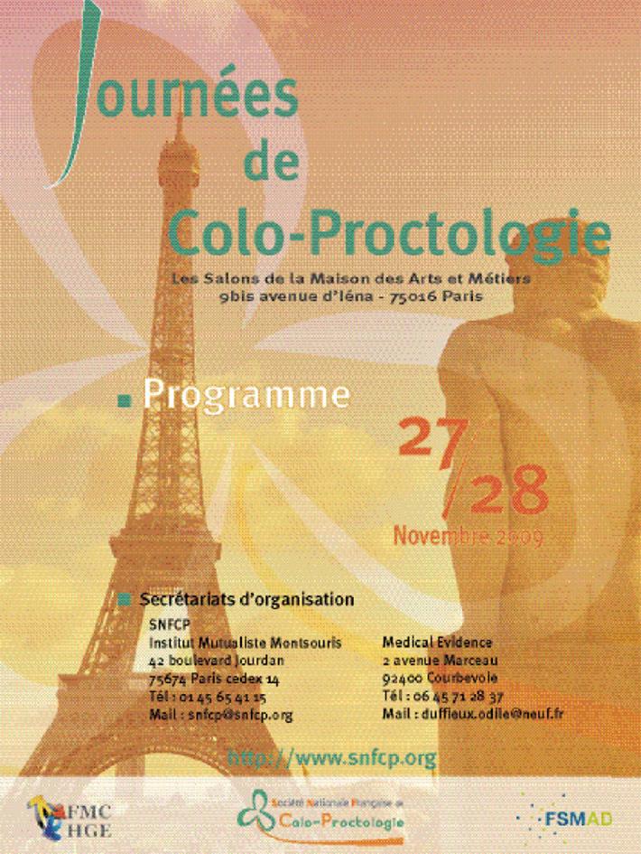 Journées de colo-proctologie 2009