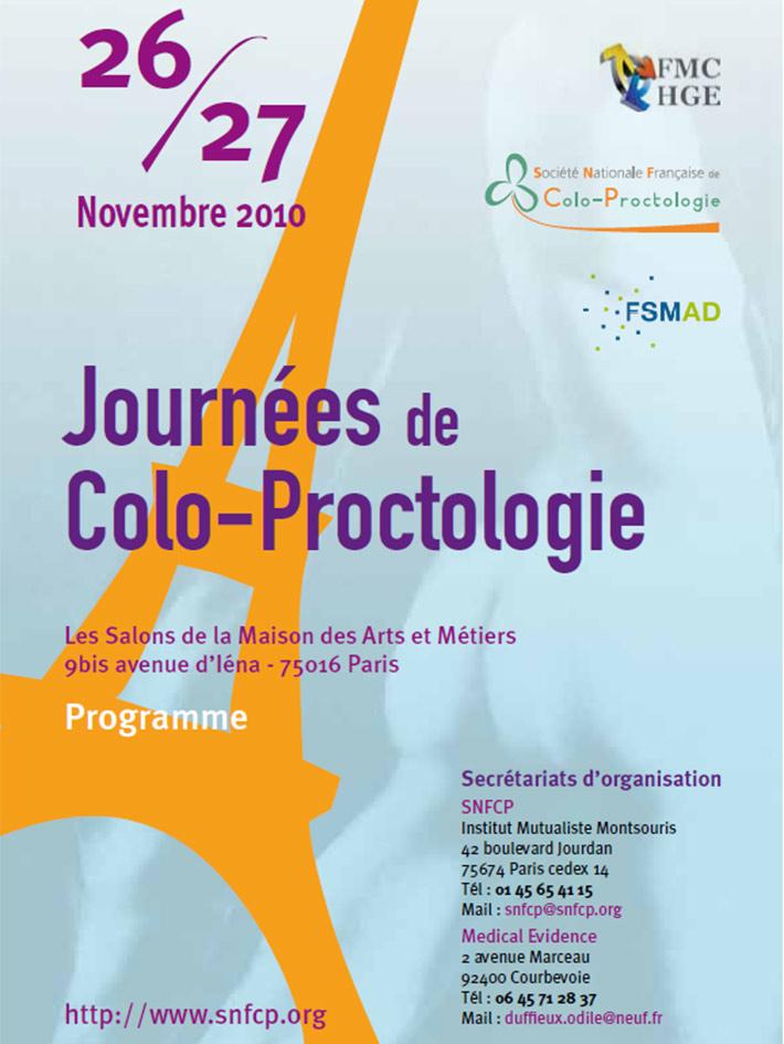 Journées de colo-proctologie 2010