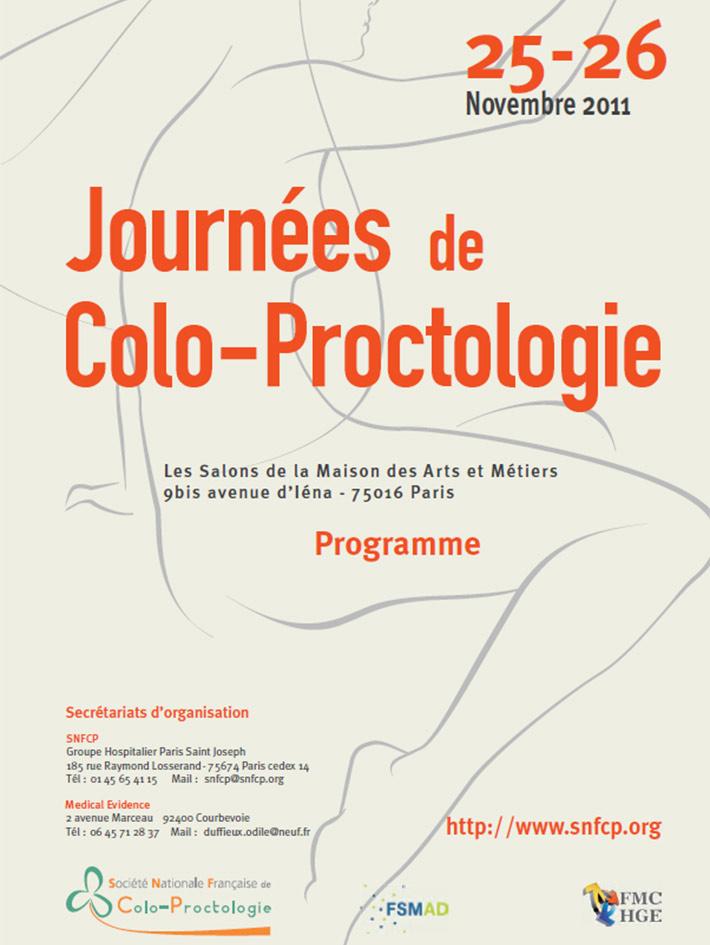 Journées de colo-proctologie 2011