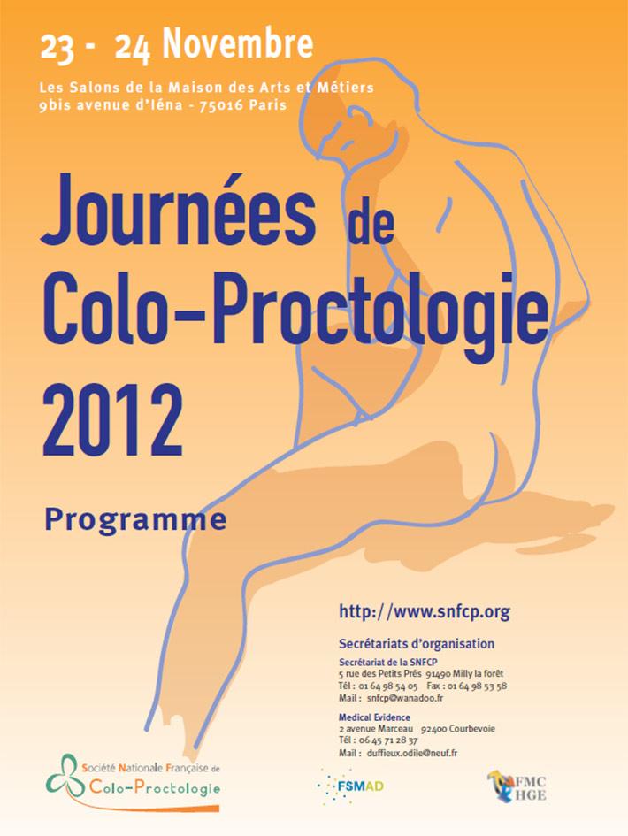 Journées de colo-proctologie 2012