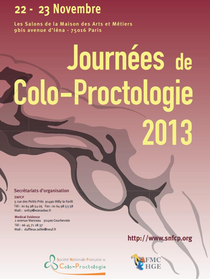 Journées de colo-proctologie 2013