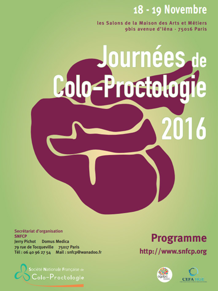 Journées de colo-proctologie 2016