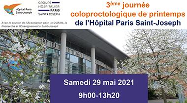 Troisième Journée ColoProctologique de Printemps de l'Hôpital Paris Saint‑Joseph