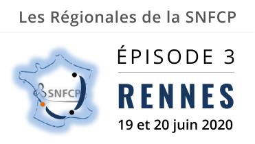 Les Régionales de la SNFCP